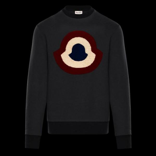 Moncler Icon Sweatshirt Siyah Erkek