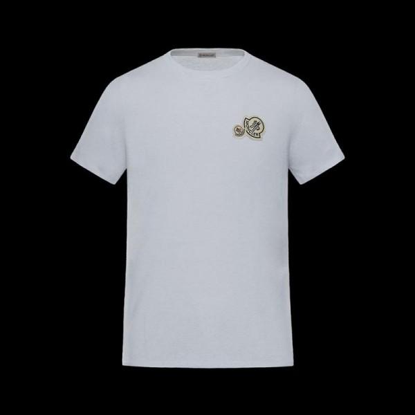 Moncler Iconic Tişört Beyaz Erkek