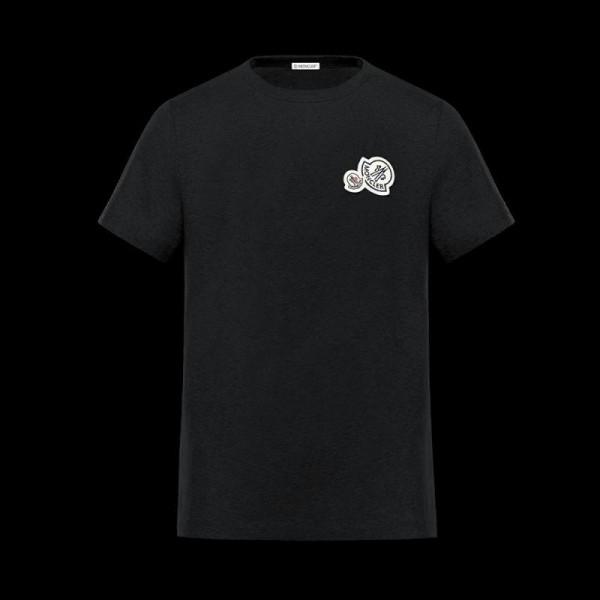Moncler Iconic Tişört Siyah Erkek