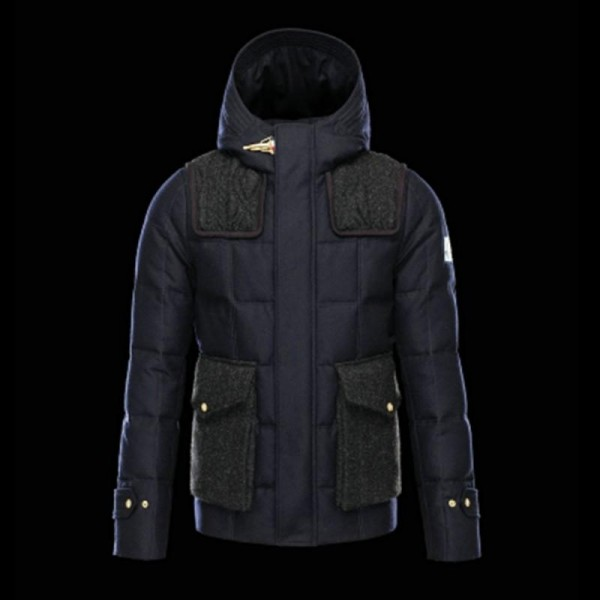 Moncler Jacker Mont Mavi Erkek