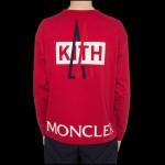 Moncler Kith Sweatshirt Erkek Kırmızı