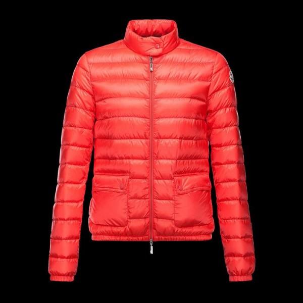 Moncler Lans Mont Kırmızı Kadın