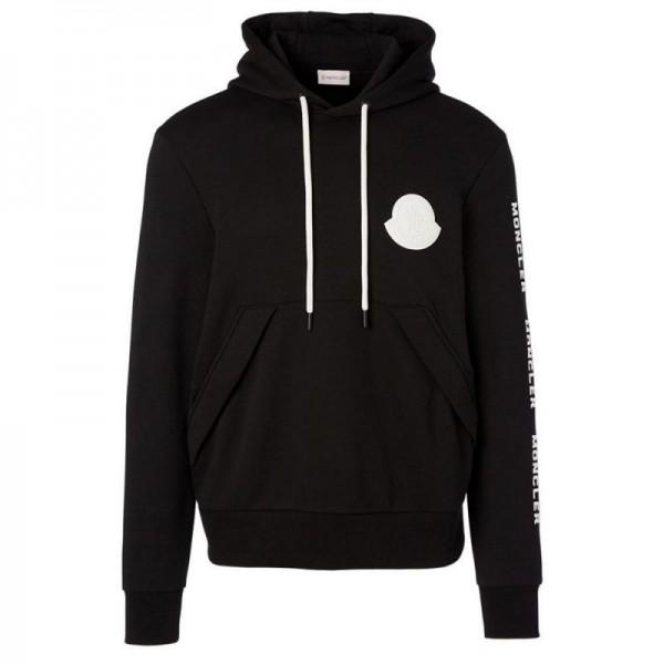 Moncler Logo Sweatshirt Siyah