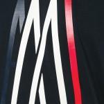 Moncler Logo Tişört Siyah Erkek