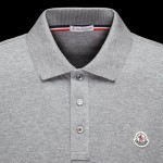 Moncler Polo Sweatshirt Gri Erkek