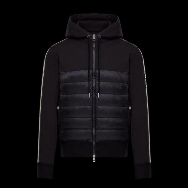 Moncler Stripe Sweatshirt Siyah