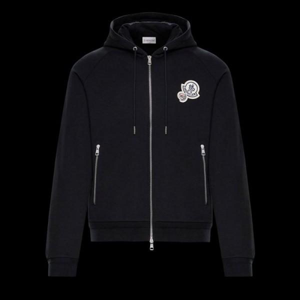 Moncler Sweatshirt Siyah Erkek