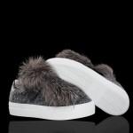 Moncler Victoire Ayakkabı Gri Kadın