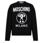 Moschino Milano Sweatshirt Siyah Erkek
