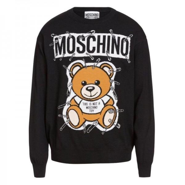 Moschino Teddy Sweatshirt Siyah