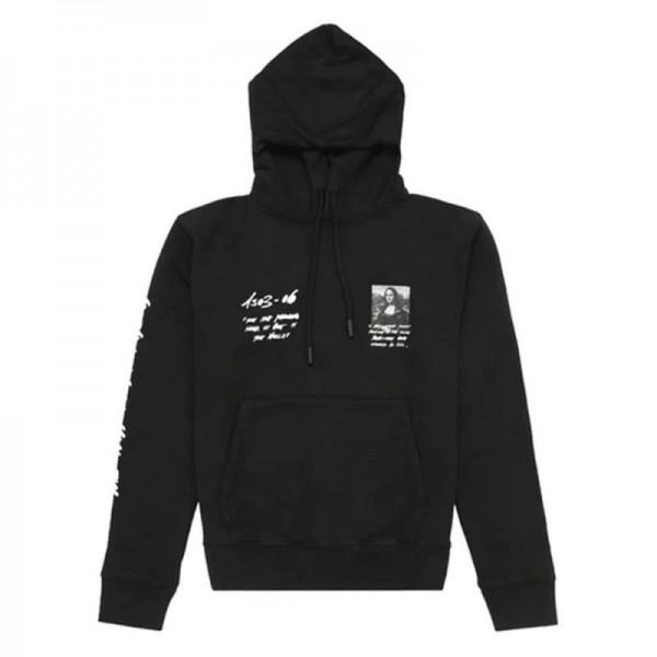 Off White Graphic Sweatshirt Erkek Siyah