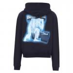 Off White Ice Man Sweatshirt Erkek Siyah