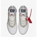 Off White x Nike Air Vapormax Ayakkabı Beyaz Erkek