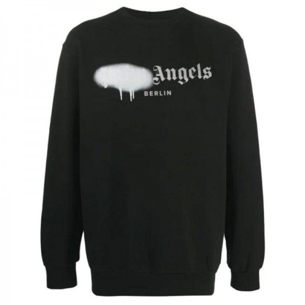 Palm Angels Paint Sweatshirt Siyah