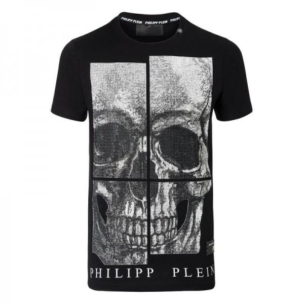 Philipp Plein All Of Me Tişört Siyah Erkek