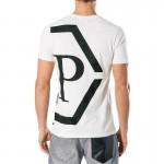 Philipp Plein Dallas Tişört Beyaz Erkek