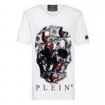 Philipp Plein Dollar Tişört Erkek Beyaz