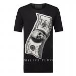 Philipp Plein Dollar Tişört Erkek Siyah