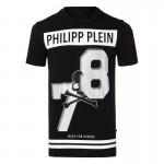 Philipp Plein Enko Tişört Siyah Erkek