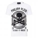 Philipp Plein Find Tişört Beyaz Erkek