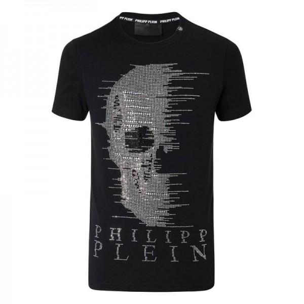 Philipp Plein Ghost Tişört Siyah Erkek