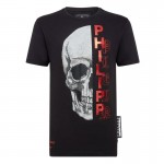 Philipp Plein Gothic Tişört Erkek Siyah