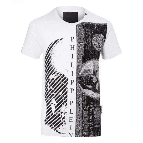 Philipp Plein Money Tişört Beyaz Erkek