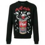 Philipp Plein Monopoly Sweatshirt Siyah Erkek