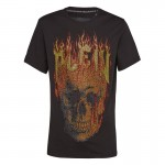 Philipp Plein Skull Tişört Siyah Erkek