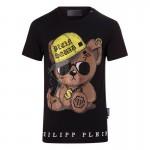 Philipp Plein Teddy Tişört Siyah Erkek