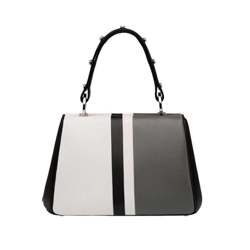 1d3c4c2fbb6dd Prada Frame Bag Çanta Beyaz Kadın - Outlet Azpara