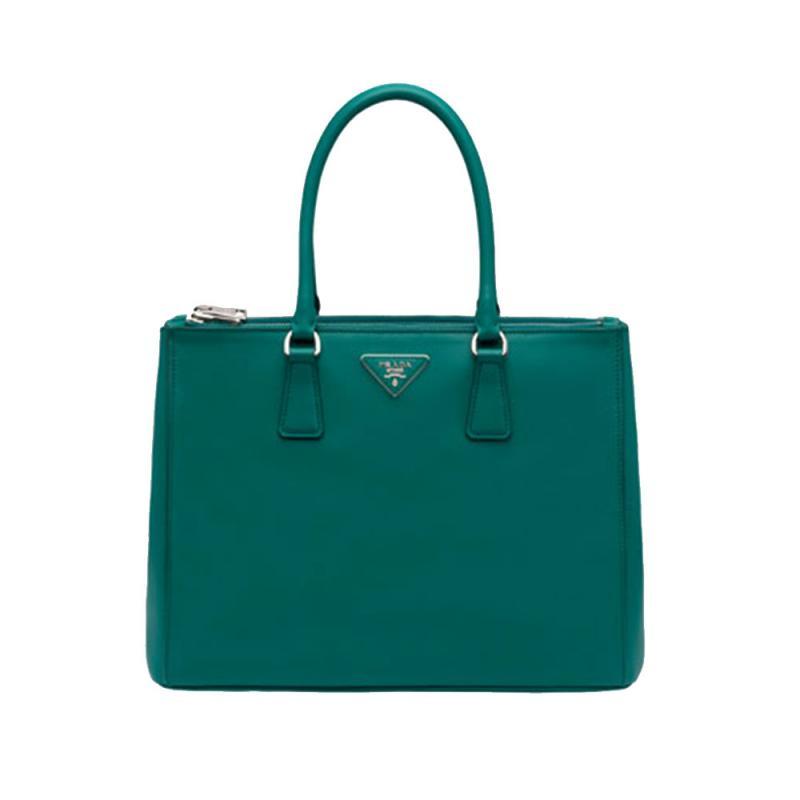 e5806f317206d1 Prada Galleria Bag Çanta Yeşil Kadın - Outlet Azpara