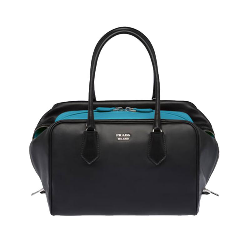 3c4c9e55167d2 Prada İnside Bag Çanta Mavi Kadın - Outlet Azpara