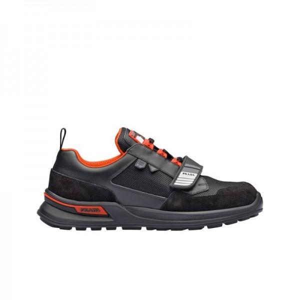Prada Mechano Ayakkabı Erkek Siyah