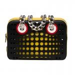 Prada Top Handle Bag Çanta Sarı Kadın