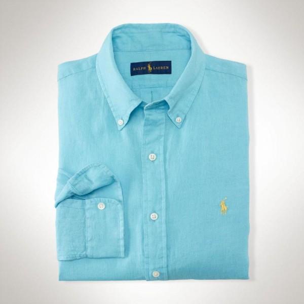 Ralph Lauren Gömlek Aqua Erkek