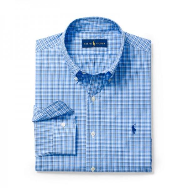 Ralph Lauren Gömlek Blue-White Erkek