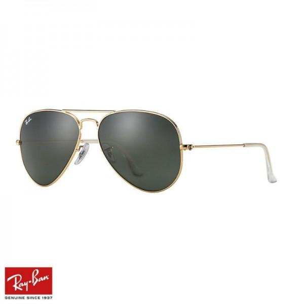 Rayban Aviator Classic Gözlük Yeşil Altın Güneş Gözlüğü