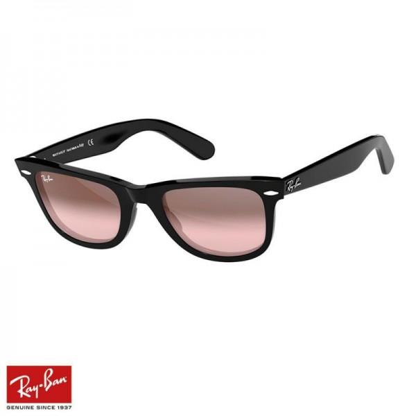 Rayban Wayfarer Degrade Gözlük Pembe Siyah Güneş Gözlüğü