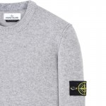 Stone Island Crewneck Sweatshirt Gri Erkek