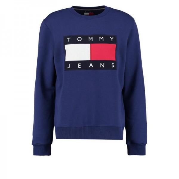 Tommy Hilfiger 90S Sweatshirt Mavi Erkek