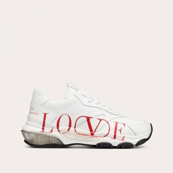 Valentino Bounce Ayakkabı Kadın Beyaz