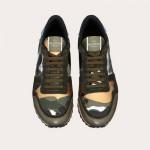 Valentino Rockrunner Ayakkabı Erkek Yeşil