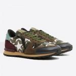 Valentino Rockrunner Ayakkabı Yeşil Erkek