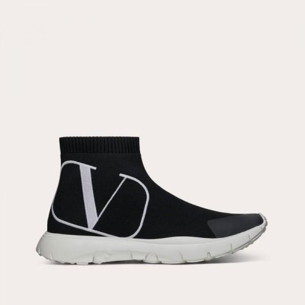 Valentino Vlogo Ayakkabı Kadın Siyah