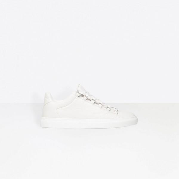 Balenciaga Low Sneakers Arena Ayakkabı Beyaz