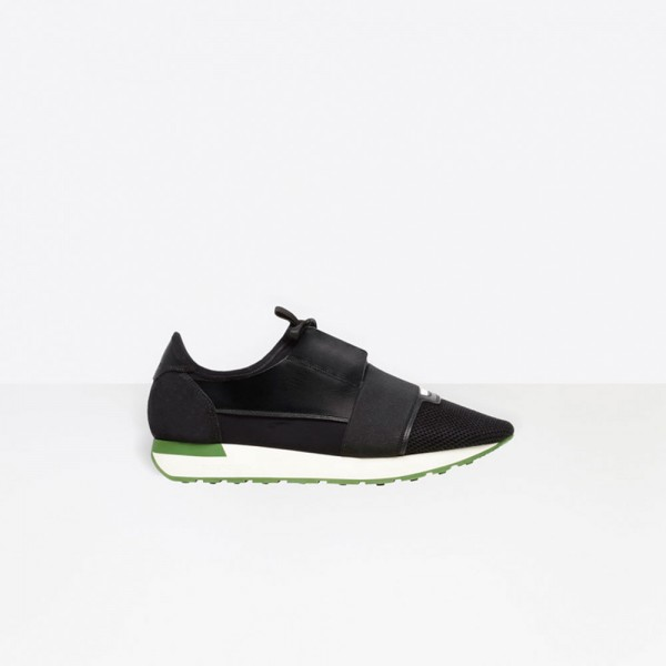 Balenciaga Race Runner Erkek Ayakkabı Siyah