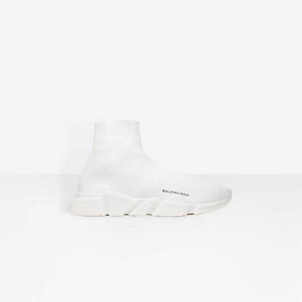 Balenciaga Speed Trainer Erkek Ayakkabı Beyaz
