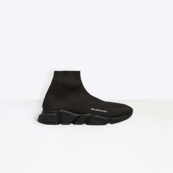 Balenciaga Speed Trainer Erkek Ayakkabı Siyah