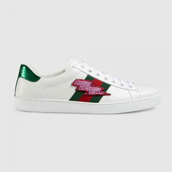 Gucci Ace Erkek Ayakkabı Beyaz